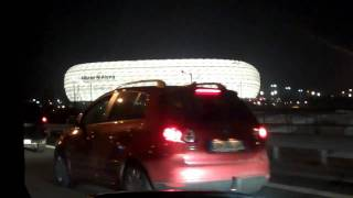 Download Anfahrt zur Allianz Arena 03.03.2010 Video