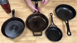 Download Modern Cast Iron Skillet Comparison Video
