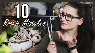 Download TOP 10 ROOKIE MISTAKES (Snake owners) Video