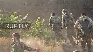 Download Syria: SAA launches grand offensive on IS base in Jobar Video