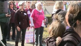 Download Sisters March hits Sharon with hopes to reach President Trump Video
