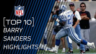 Download Top 10 Barry Sanders Touchdowns of All Time | NFL Legend Highlights Video