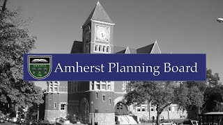 Download Amherst Planning Board - January 15, 2020 Video