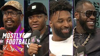 Download Von Miller, Amari Cooper, Jarvis Landry and Deontay Wilder Join Our SBLIII Special | Mostly Football Video