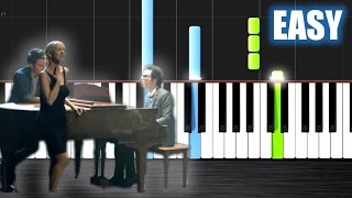 Download A Great Big World, Christina Aguilera - Say Something - EASY Piano Tutorial by PlutaX - Synthesia Video