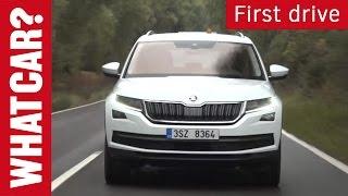Download Skoda Kodiaq driven | What Car? Short Video