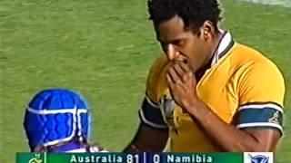 Download Australia 142 vs 0 Namibia RWC 2003 Video