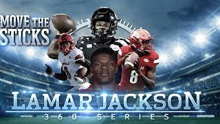 Download Lamar Jackson's Draft Profile & High School Highlights: Mike Vick 2.0   Move the Sticks 360 Series Video