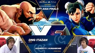 Download SFV: DNG Itazan vs HuomaoTV Humanbomb - CPT Asia Finals Top 8 - CPT2016 Video