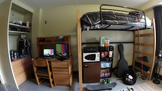 Download COLLEGE DORM ROOM TOUR! Video