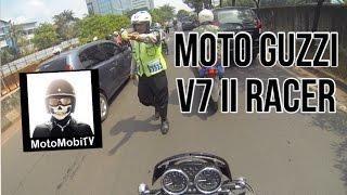 Download Gagal MOTOVLOG riding Moto Guzzi V7 II Racer Video