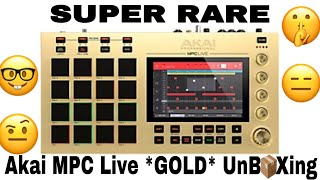 Download Bruh Luuh UnBOXing 📦 *RARE* 1 of 800 Akai MPC Live GOLD's in the WORLD 🌎 Video
