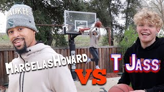 Download TRISTAN JASS TAKES ON THE BACKYARD BASKETBALL CHALLENGE!! Video