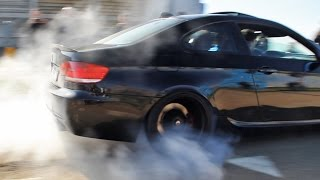 Download Cars Leaving Supercar Meet | Burnouts, Accelerations, Wheelspins Video