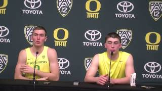 Download Oregon Ducks defeated Oregon State Beavers 85-43 in Civil War hoops Video