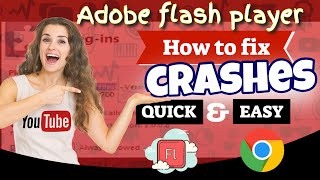 Download How to fix crashes from adobe flash player in google chrome browser Video