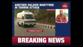 Download Nagrota Terror Attack : One Terrorist Killed, Firing Continues Video
