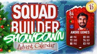 Download THE SQUAD BUILDER SHOWDOWN ADVENT CALENDAR!!! FUTMAS ANDRE GOMES VS REEV!!! Day 13 Video