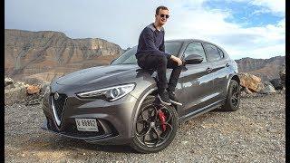 Download L'ALFA ROMEO STELVIO QUADRIFOGLIO EST UN SUV-SUPERCAR! ESSAI À DUBAI! Video