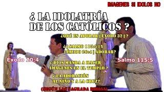 Download ¿ La idolatría de los Católicos ?    Éxodo 20:4      Salmos 115:5    (Pbro. Luis Toro) [[COMPLETO]] Video