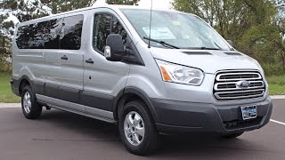 Download 2017 Ford Transit-350 XLT Low Roof Wagon 12 Passenger Van at Eau Claire Ford Lincoln Quick Lane Video