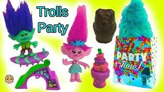 Download Party With Dreamworks Trolls Poppy, Branch, Guy Diamond & DJ Suki with LPS Video
