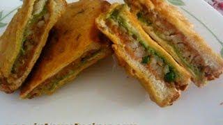 Download Making Aloo Bread Pakora- Hindi Video