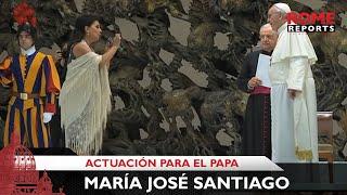 Download Cantante gitana sorprende al Papa Francisco con dos canciones flamencas Video