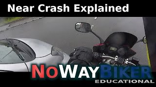 Download Near crash in a roundabout - Dangers while filtering/lane splitting in roundabout with motorcycle Video