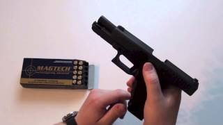 Download How to load and unload a Glock pistol Video