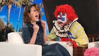 Download Ellen Ups Her Scare Game for 'AHS: Cult' Star Sarah Paulson Video