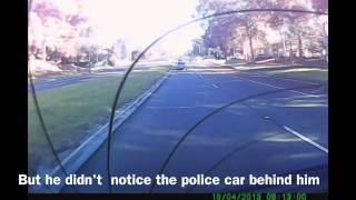 Download Finally Police Around When You Want , Bad driver gets caught by cops Video