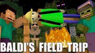 Download Monster School Baldi's basic FIELD TRIP Minecraft Animation Video