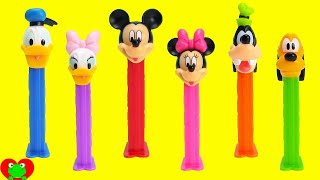Download Mickey Mouse Club House Pez Dispensers with Minnie Mouse and More Video