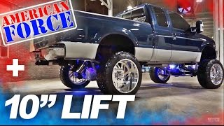 Download Spotlight - 2001 F250 Super Duty, 10″ of Lift, 24″ FORCES, and 38's Video