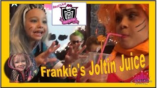 Download Real Live Monster High | 'Frankie's Joltin Juice' - Creative Princess Video