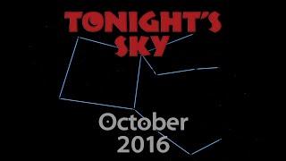 Download Tonight's Sky: October 2016 Video