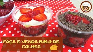 Download FAÇA E VENDA - BOLO DE COLHER - MIL DELÍCIAS NA COZINHA Video