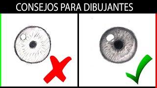 Download #1 COMO DIBUJAR los elementos DEL ROSTRO | Labios, Iris, Pestañas, Cejas, Nariz | Esteban Arts Video