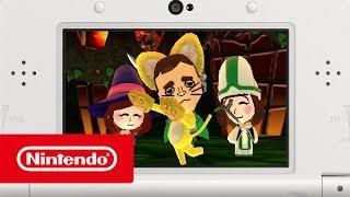 Download Miitopia - Adventure awaits your Tomodachi Life friends! (Nintendo 3DS) Video