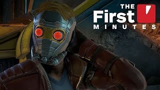 Download The First 15 Minutes of Guardians of the Galaxy: The Telltale Series Video