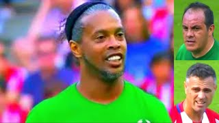 Download Atletico Madrid vs world legends ⚽️ RONALDINHO ⚽️ Atletico Madrid vs Leyendas del futbol Video