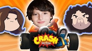 Download Crash Tag Team Racing with Special Guest Finn Wolfhard - Guest Grumps Video