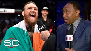 Download Stephen A.: I got hit more than Conor McGregor in the last week than he did | SportsCenter Video