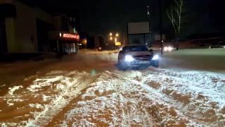 Download Genesis g80 snow winter htrac Video