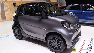 Download 2016 Smart Fortwo Coupe 66kw Twinamic - Exterior and Interior Walkaround - 2016 Geneva Motor Show Video