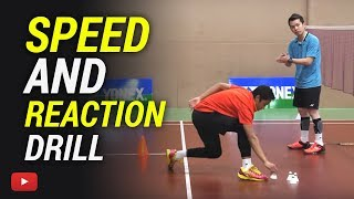 Download Badminton Speed and Reaction Drill - Coach Kowi Chandra Video