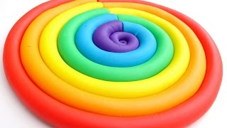 Download DIY How To Make Play Doh Modelling Clay Popsicles Rainbow Compilation Video