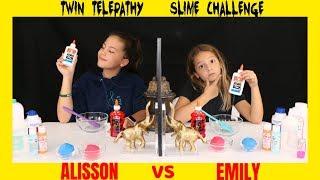 Download TWIN TELEPATHY SLIME CHALLENGE/ SIS VS SIS | SISTER FOREVER Video