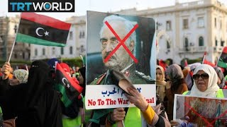 Download Libya on the Brink: Protesters condemn Trump's call to Haftar Video